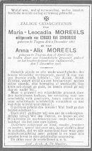 Maria-Leocadia en Anna-Alix Moreels