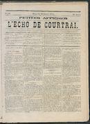 L'echo De Courtrai 1872-10-20