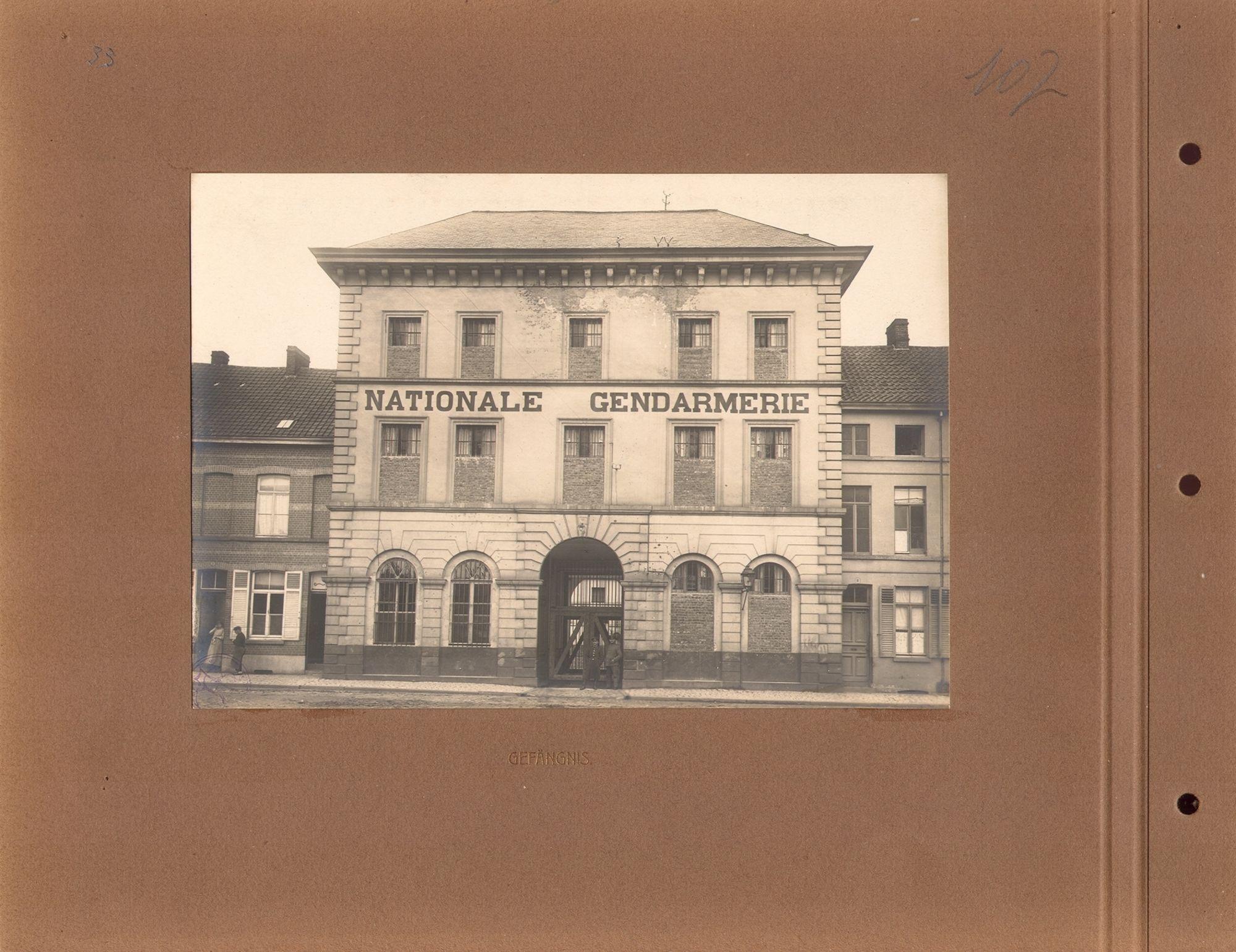 Gevangenis tijdens Wereldoorlog I