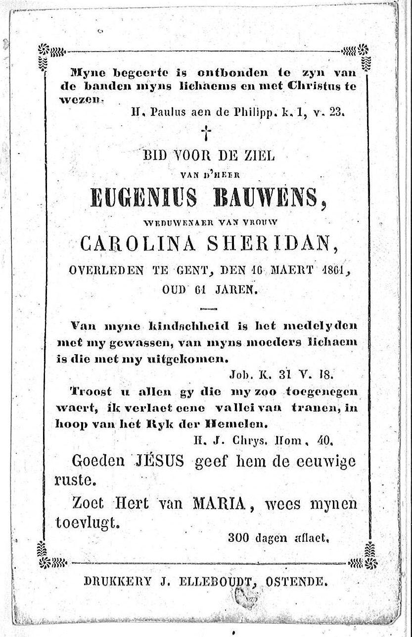 Eugenius Bauwens