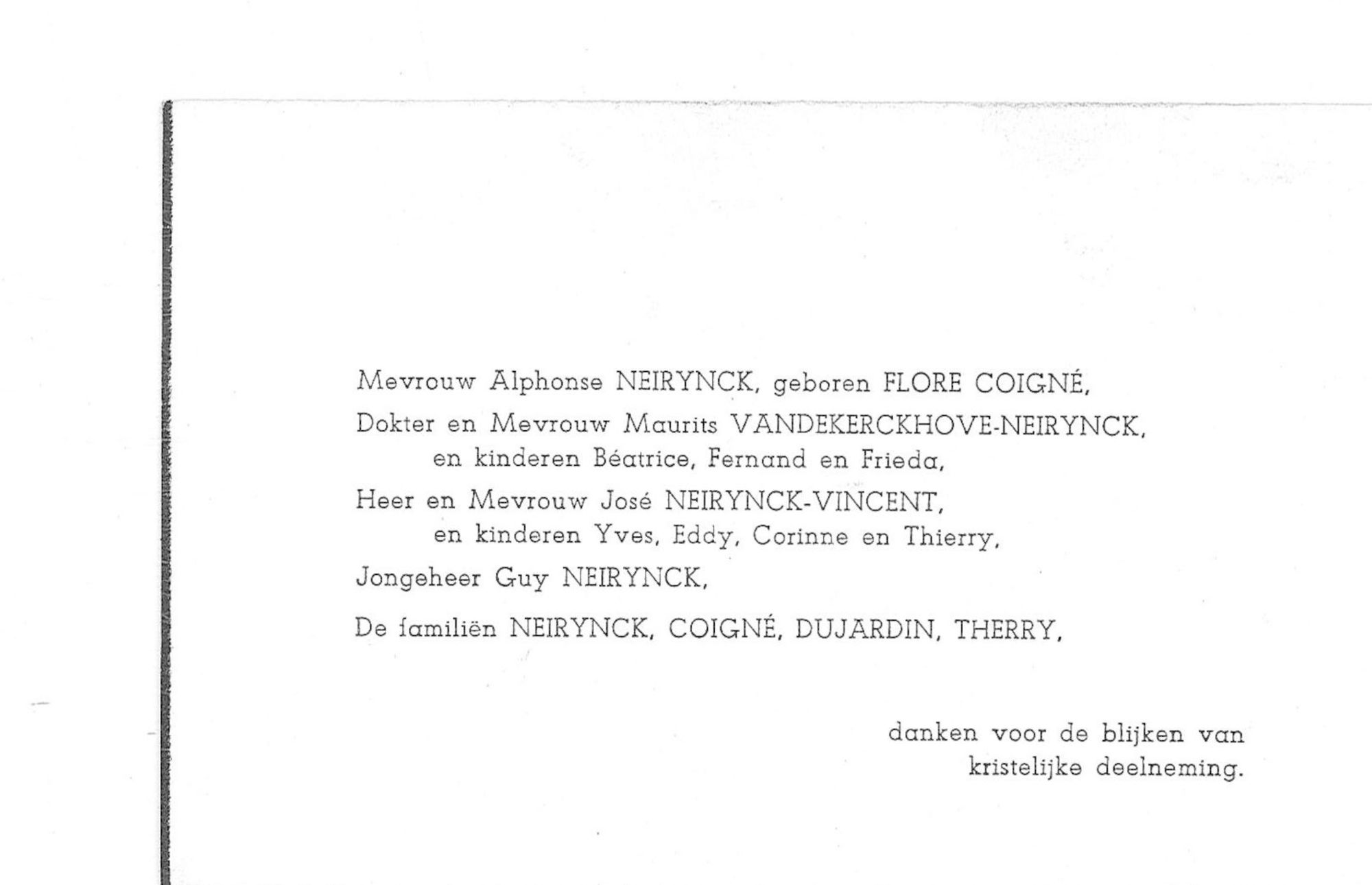 Alphonse-Gustave Neirynck