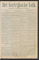 Het Kortrijksche Volk 1911-03-19