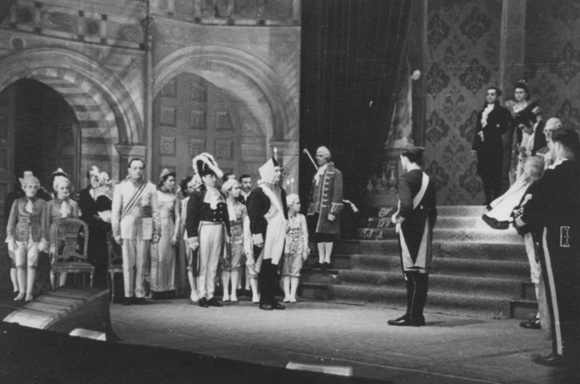 Kortrijks Lyrisch Toneel in 1950