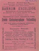 Paasfoor: Cinématographe Barnum Excelsior