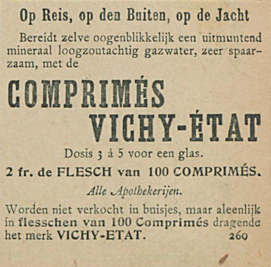COMPRIMES VICHY ETAT