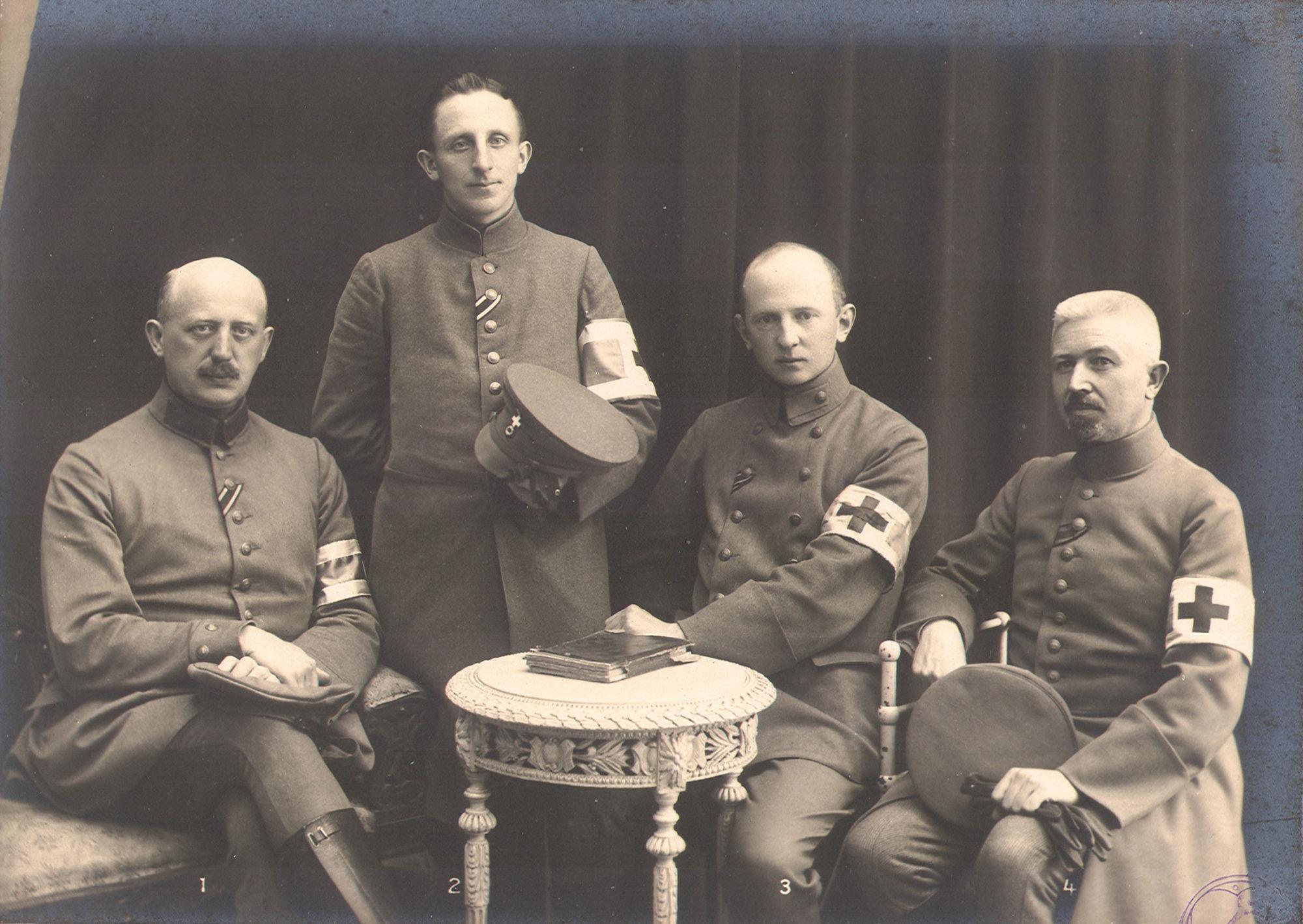 Duitse aalmoezeniers in 1916