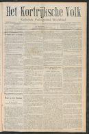 Het Kortrijksche Volk 1910-01-09