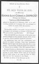 Edonie-Julie-Cornelia Deprost