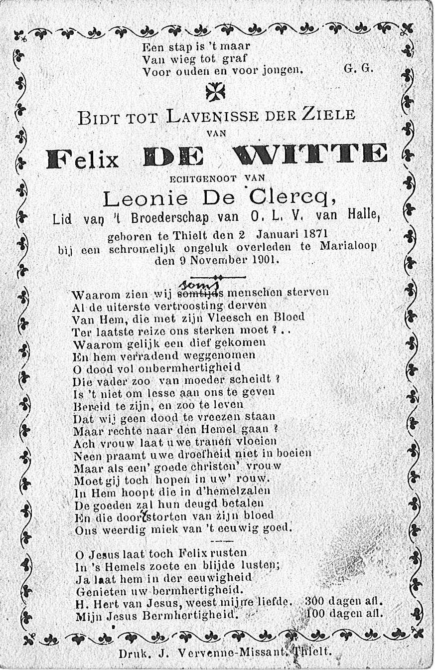 Felix De Witte