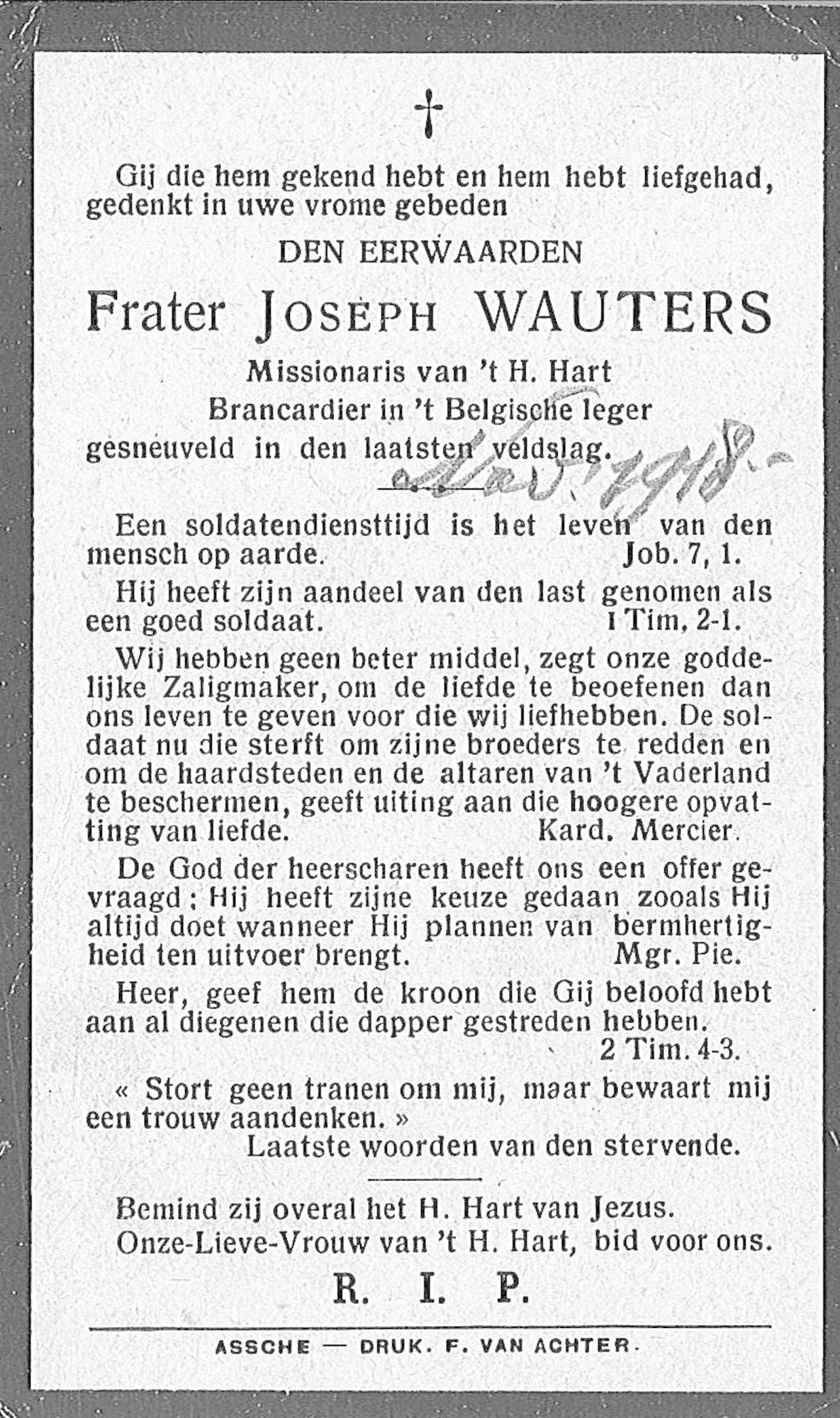 Joseph Wauters