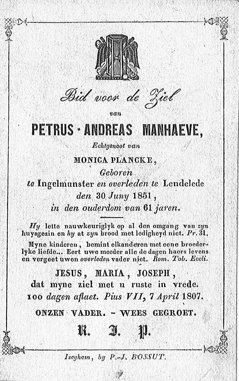 Petrus-Andreas Manhaeve