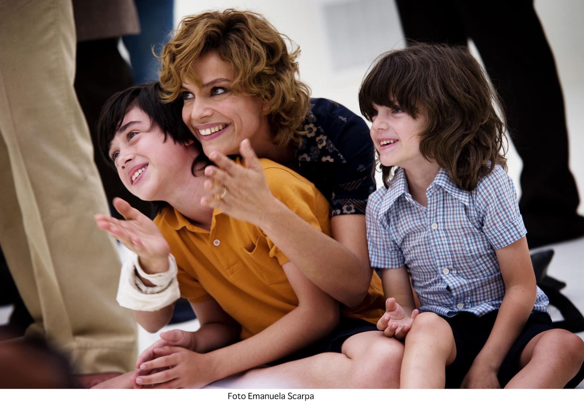 Mama en kinderen