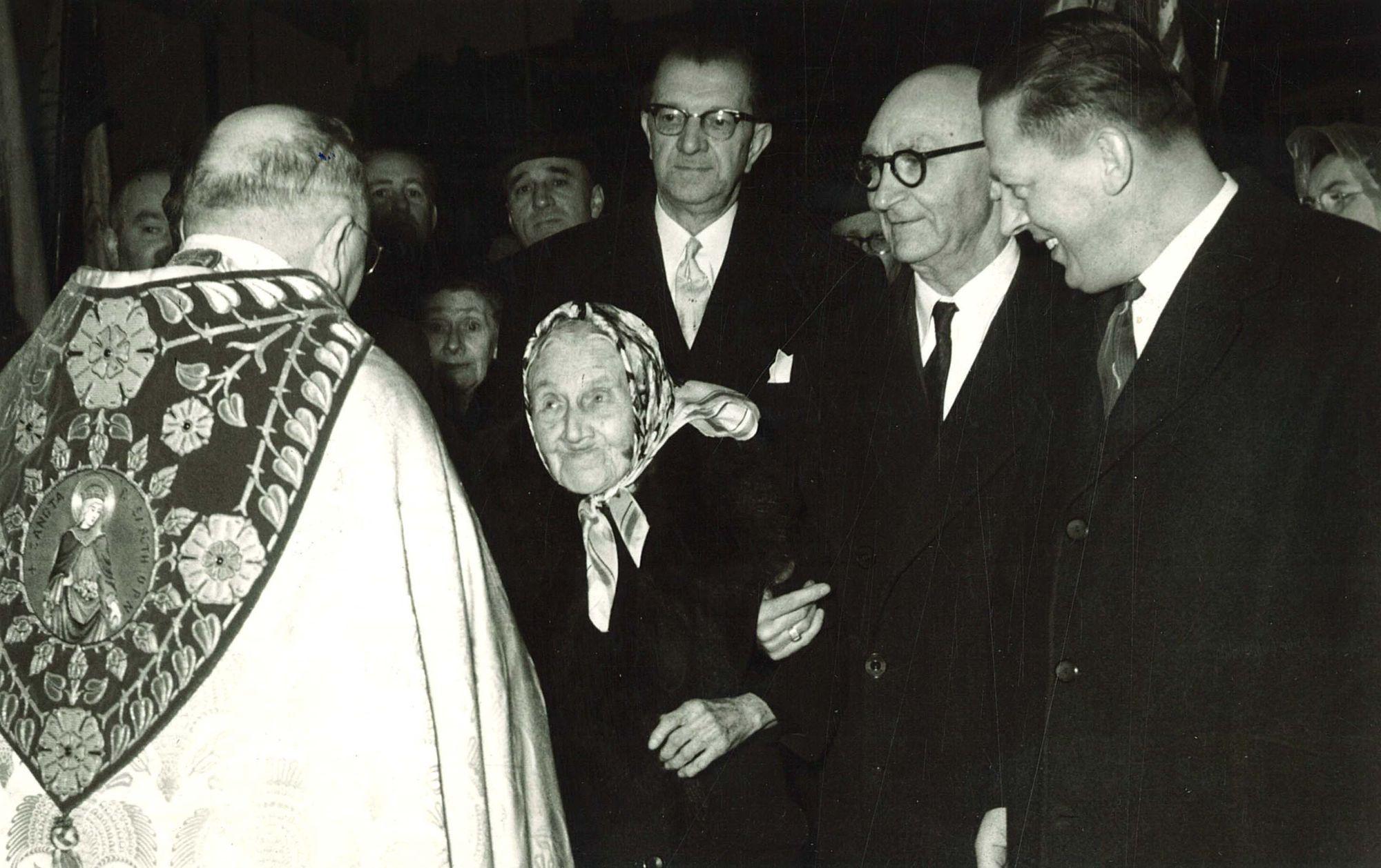 Viering 100-jarige Elisa Gaeremynck