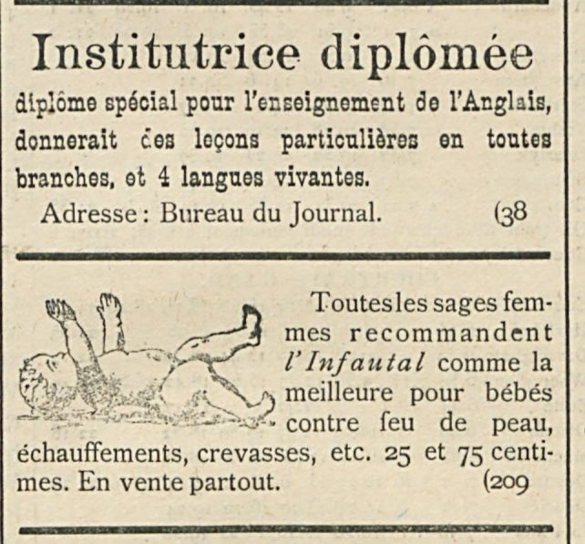Institutrice diplomee