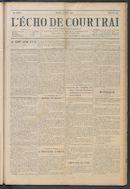 L'echo De Courtrai 1914-07-02