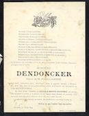 Dendoncker Honorine