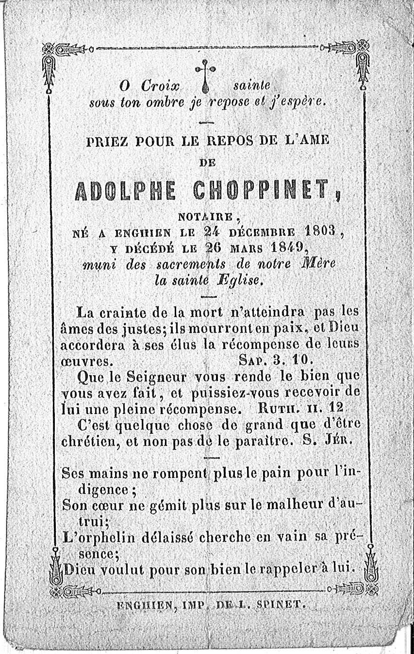 Adolphe Choppinet