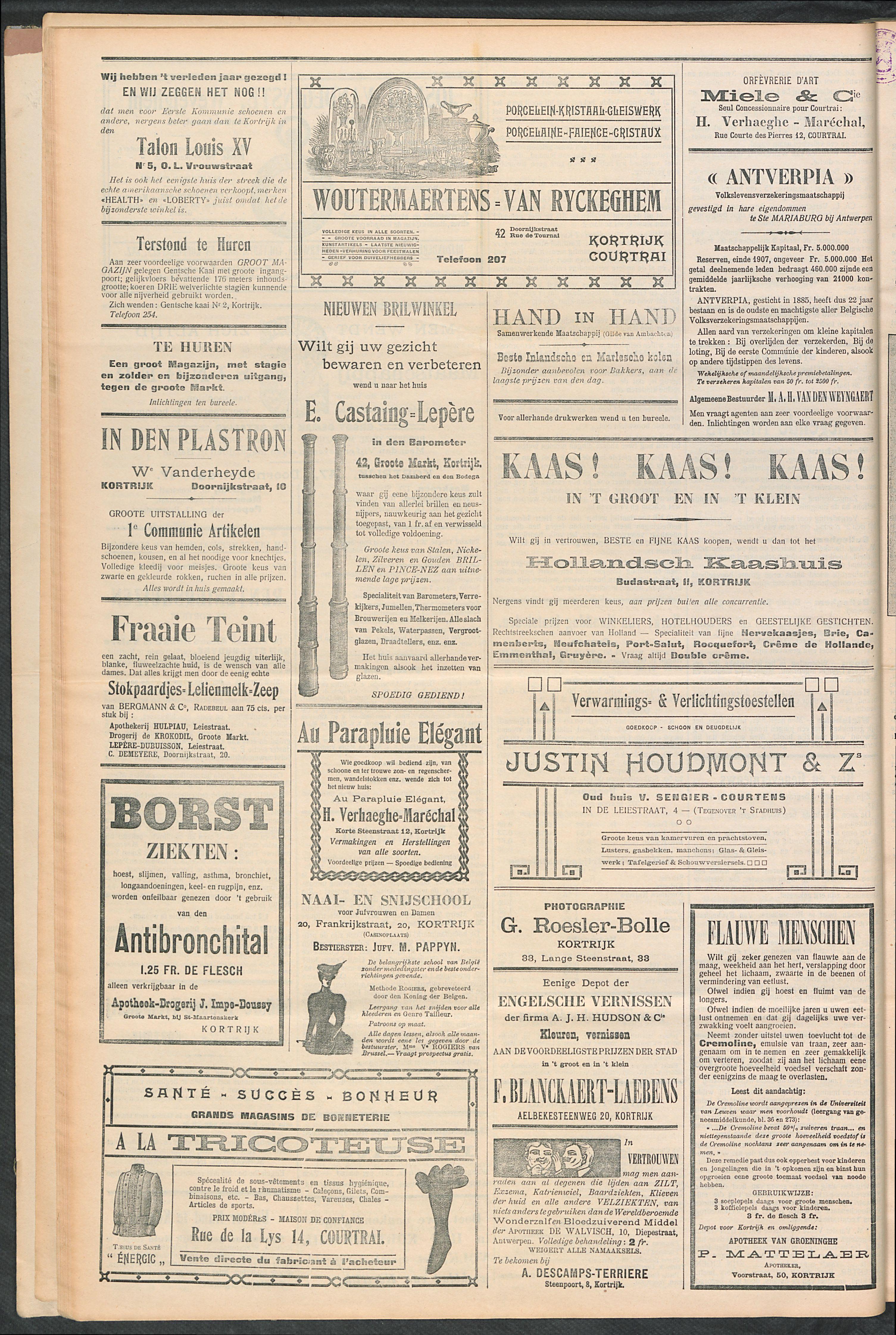 Het Kortrijksche Volk 1910-02-27 p4