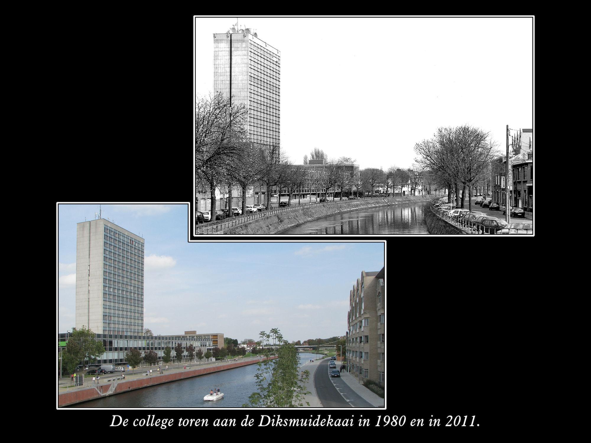 Diksmuidekaai 1980 2011