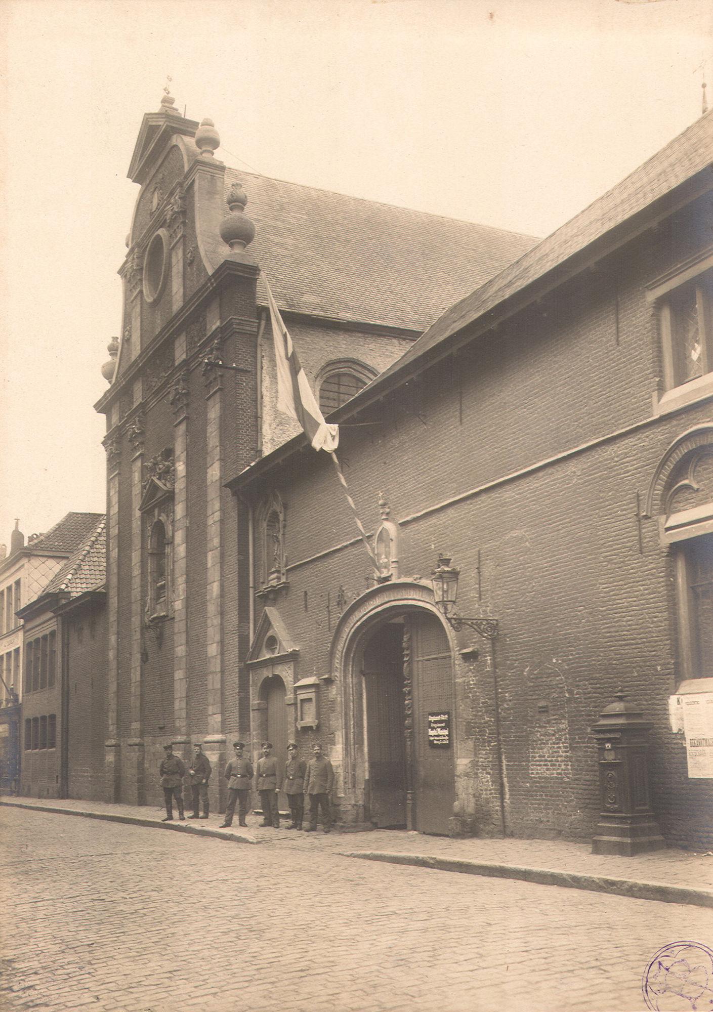 Onze-Lieve-Vrouwehospitaal tijdens Wereldoorlog I