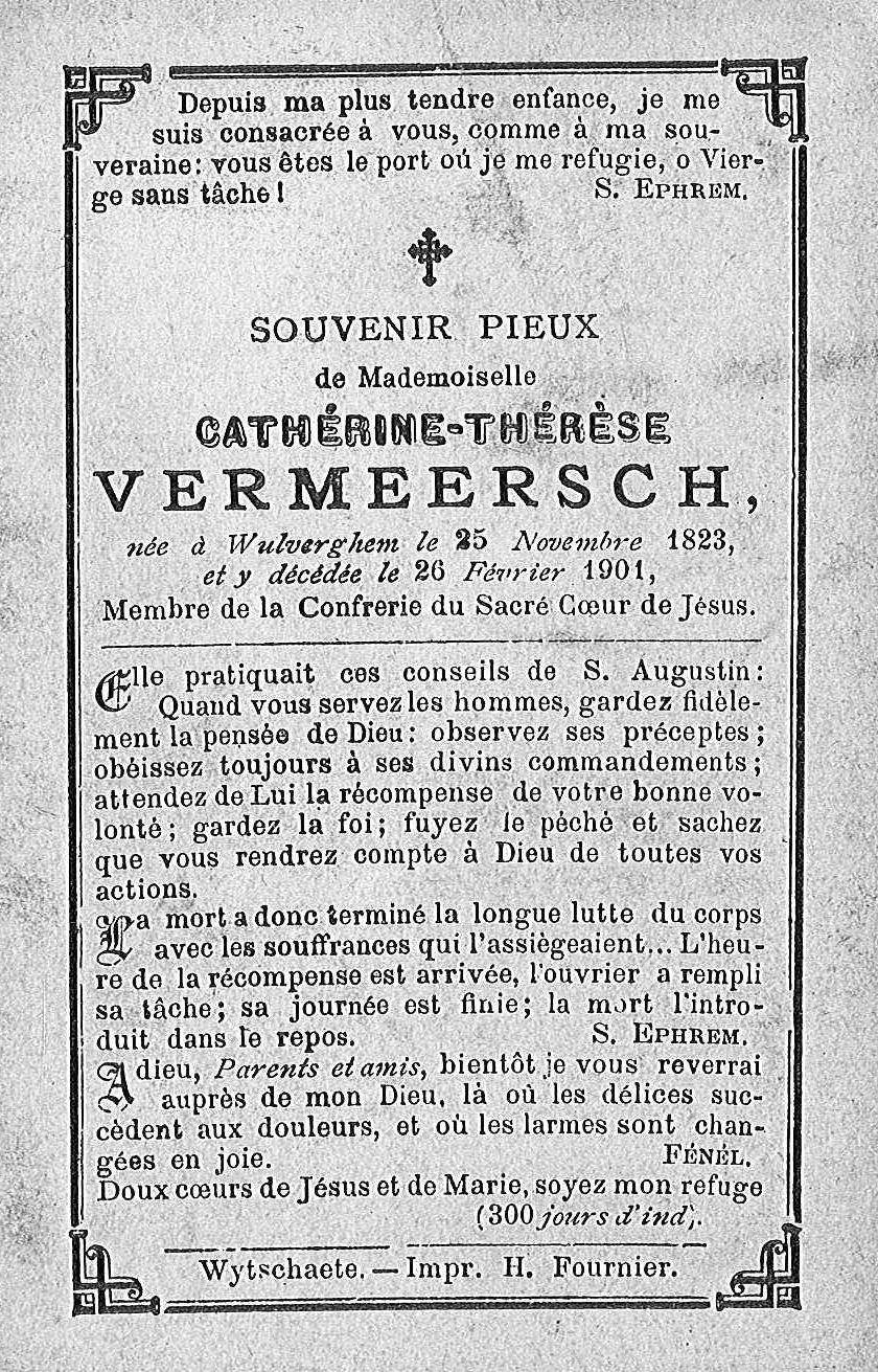 Cathérine-Thérèse Vermeersch