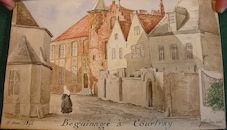 Begijnhof Sint-Elisabeth te Kortrijk 1844