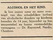 ALCOHOL EN HET KIND