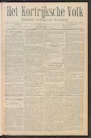 Het Kortrijksche Volk 1911-01-15