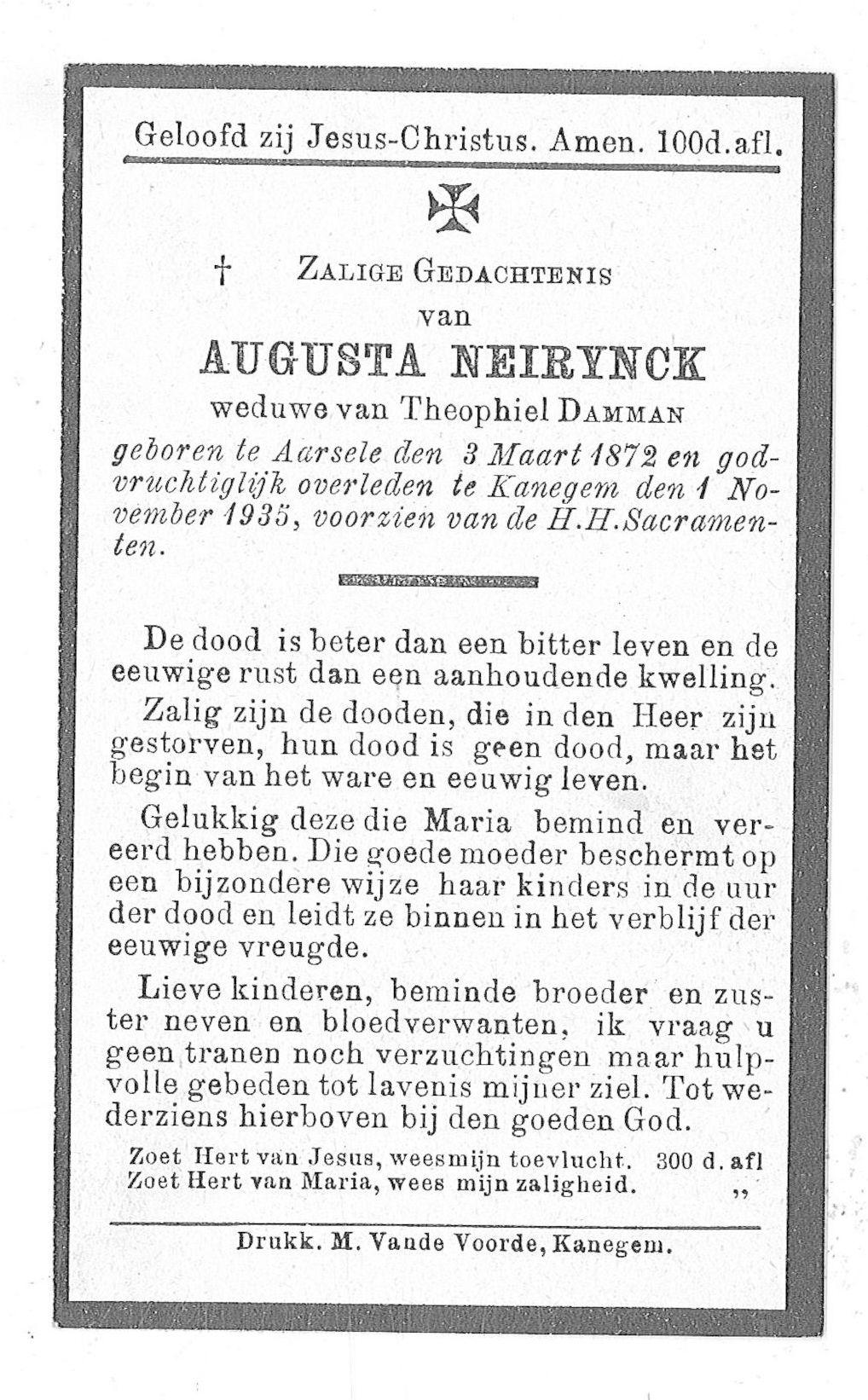 Augusta Neirynck