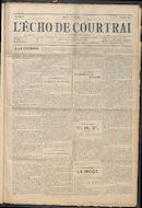 L'echo De Courtrai 1914-04-09