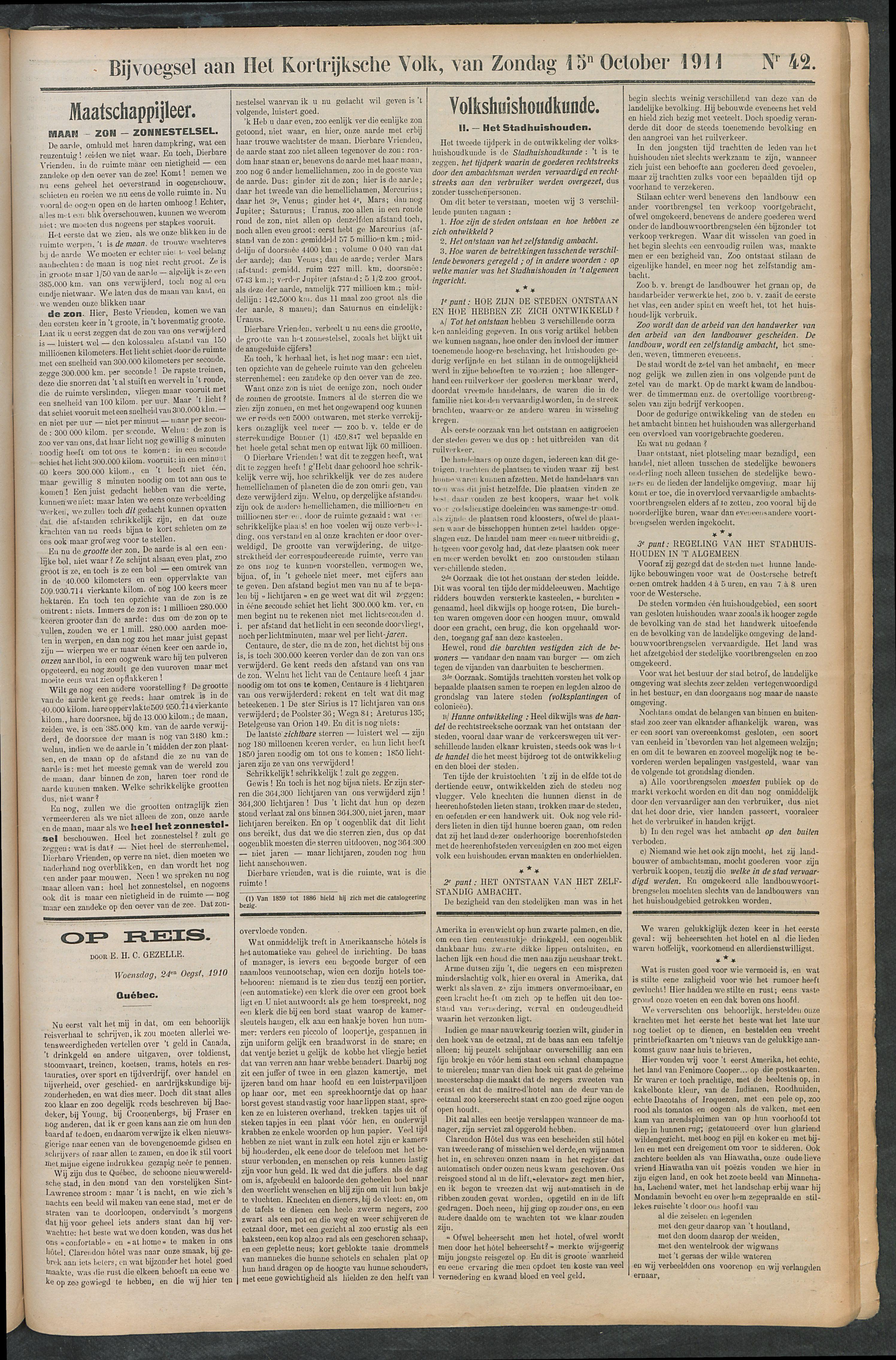 Het Kortrijksche Volk 1911-10-15 p5