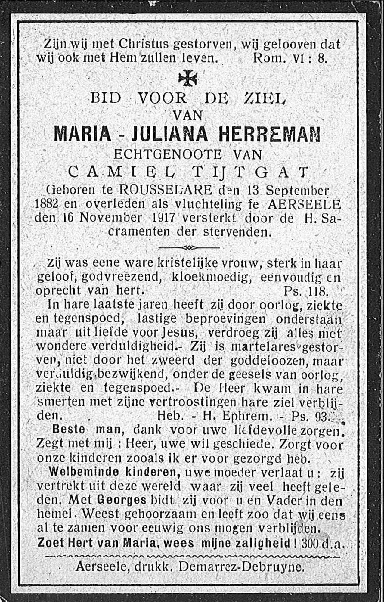 Maria-Juliana Herreman