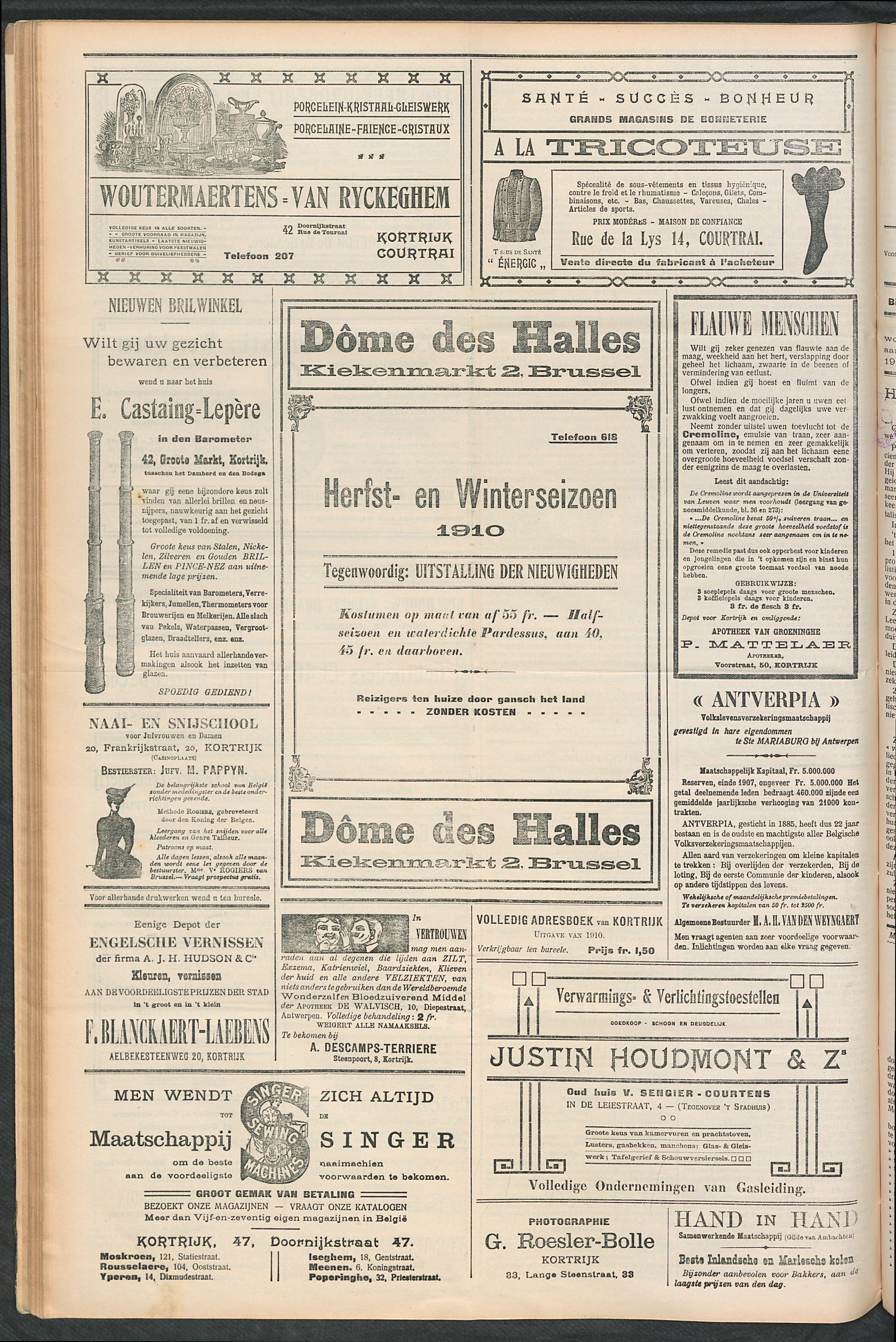 Het Kortrijksche Volk 1910-10-02 p4
