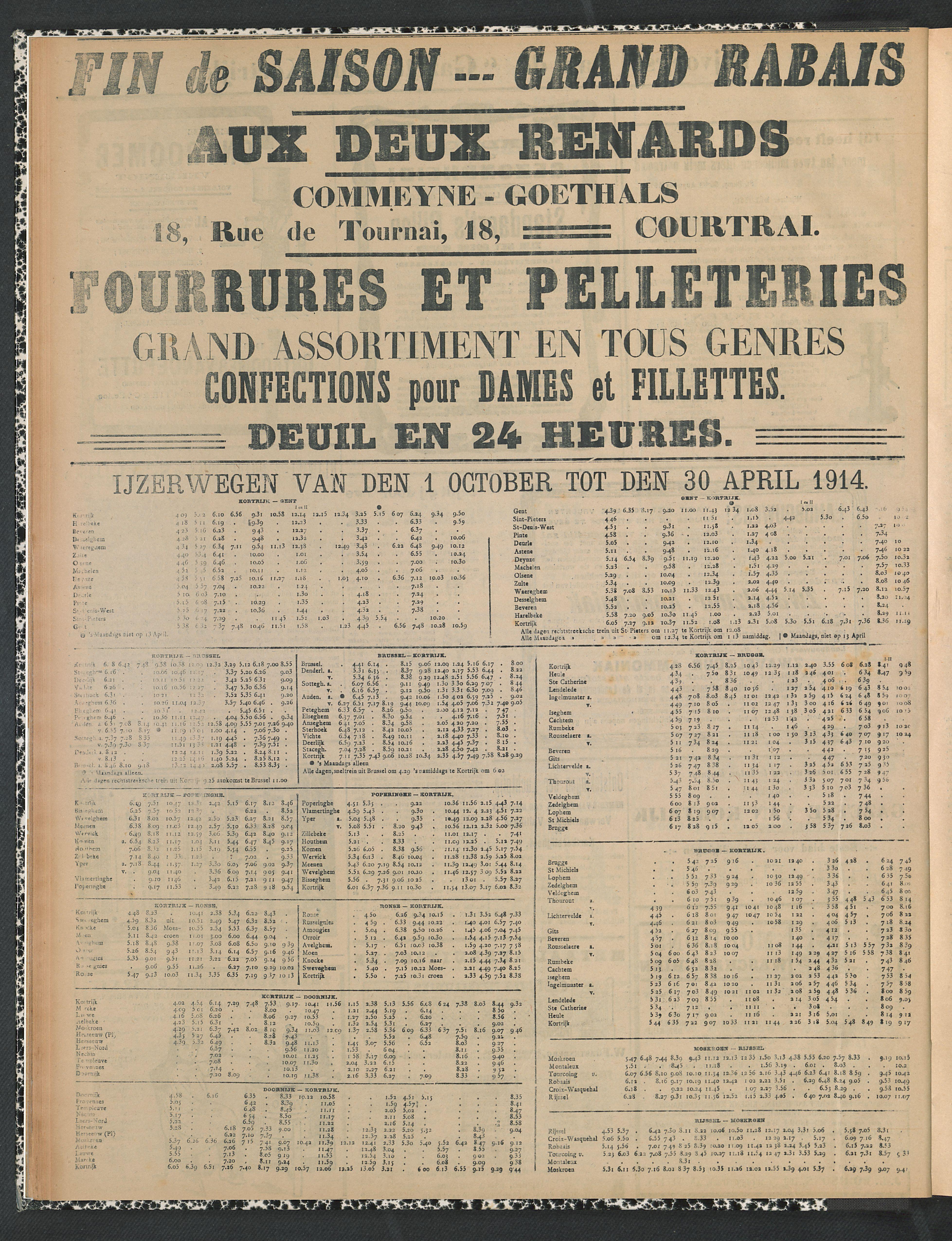 Gazette Van Kortrijk 1914-01-25 p6