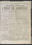 L'echo De Courtrai 1873-09-14