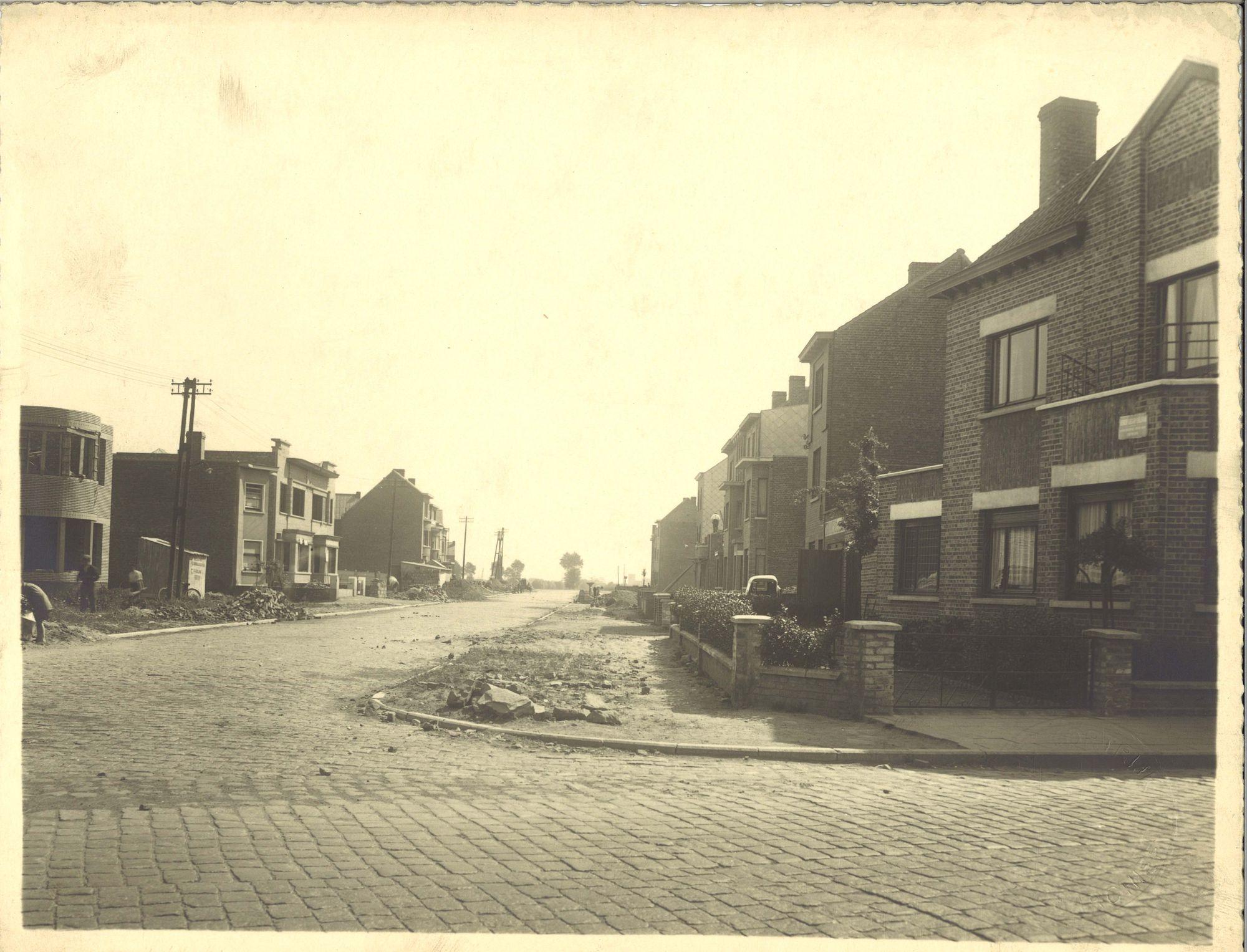 Kortrijk, straten periode 1940