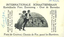 Paasfoor 1911: Rolschaatsbaan
