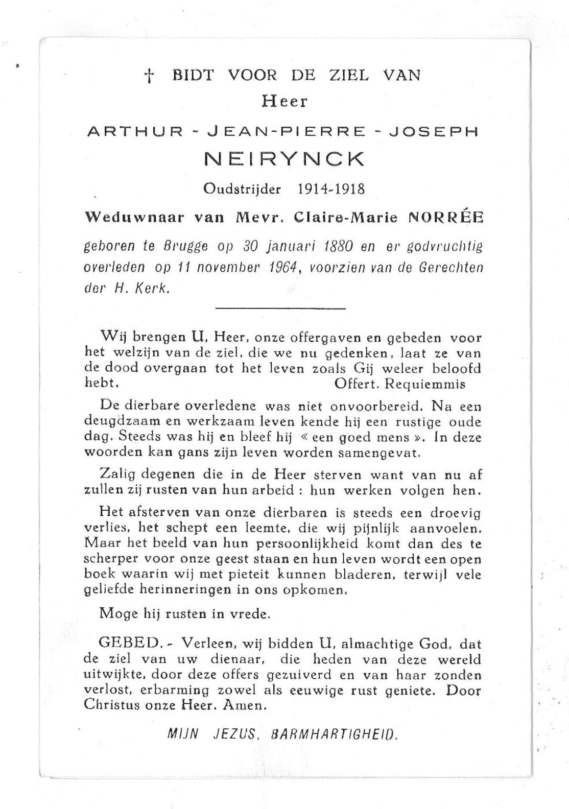 Arthur-Jean-Pierre-Joseph Neirynck