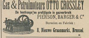 Gaz and Petromoteurs OTTO CROSSLEY