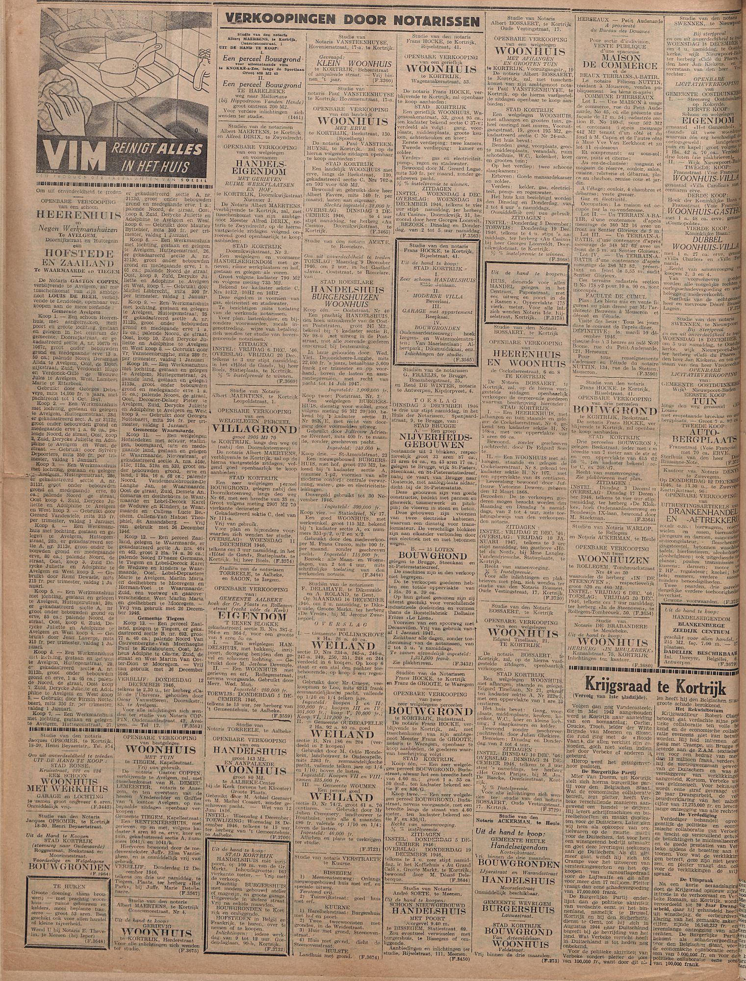 Kortirjksch Handelsblad 29 november 1946 Nr96 p4