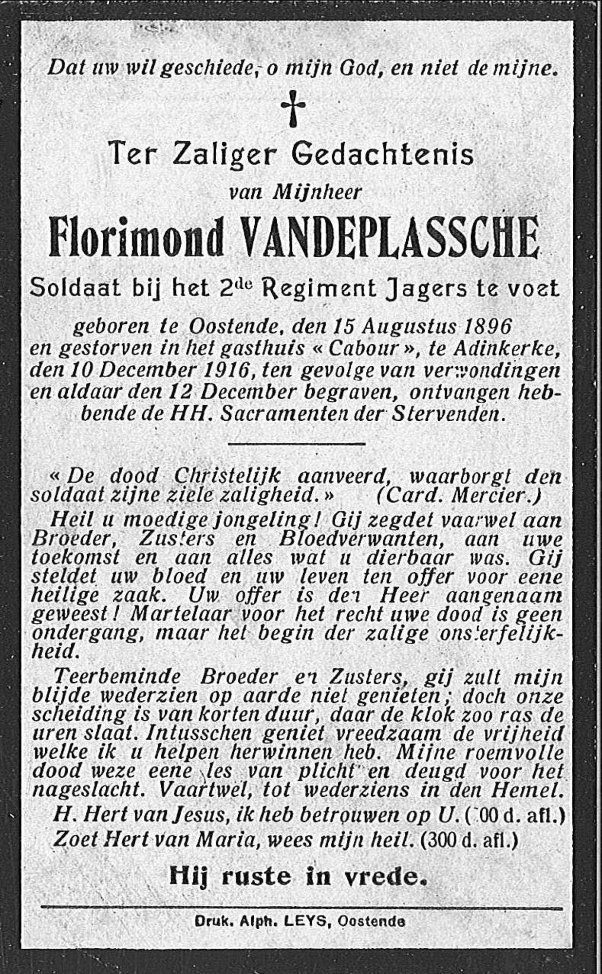 Florimond Vandeplassche
