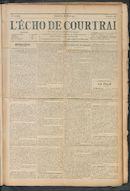 L'echo De Courtrai 1911-03-26 p1