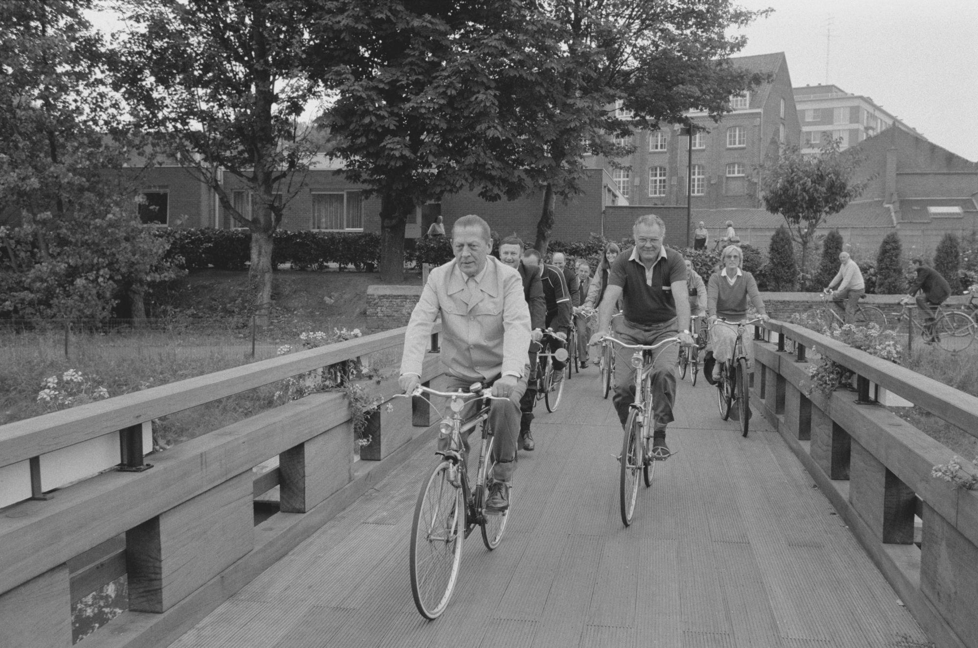Nieuwe fietsbrug