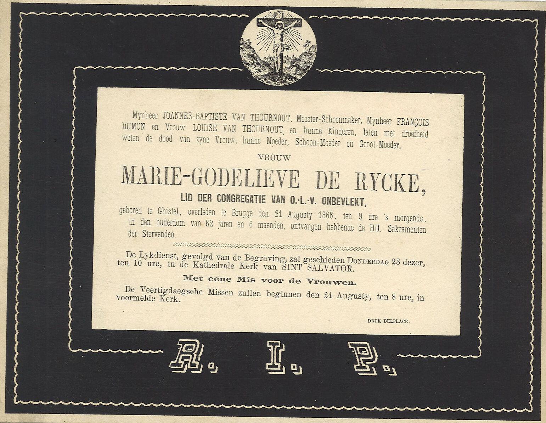 Marie-Godelieve De Rycke