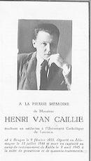 Henri Van Caillie
