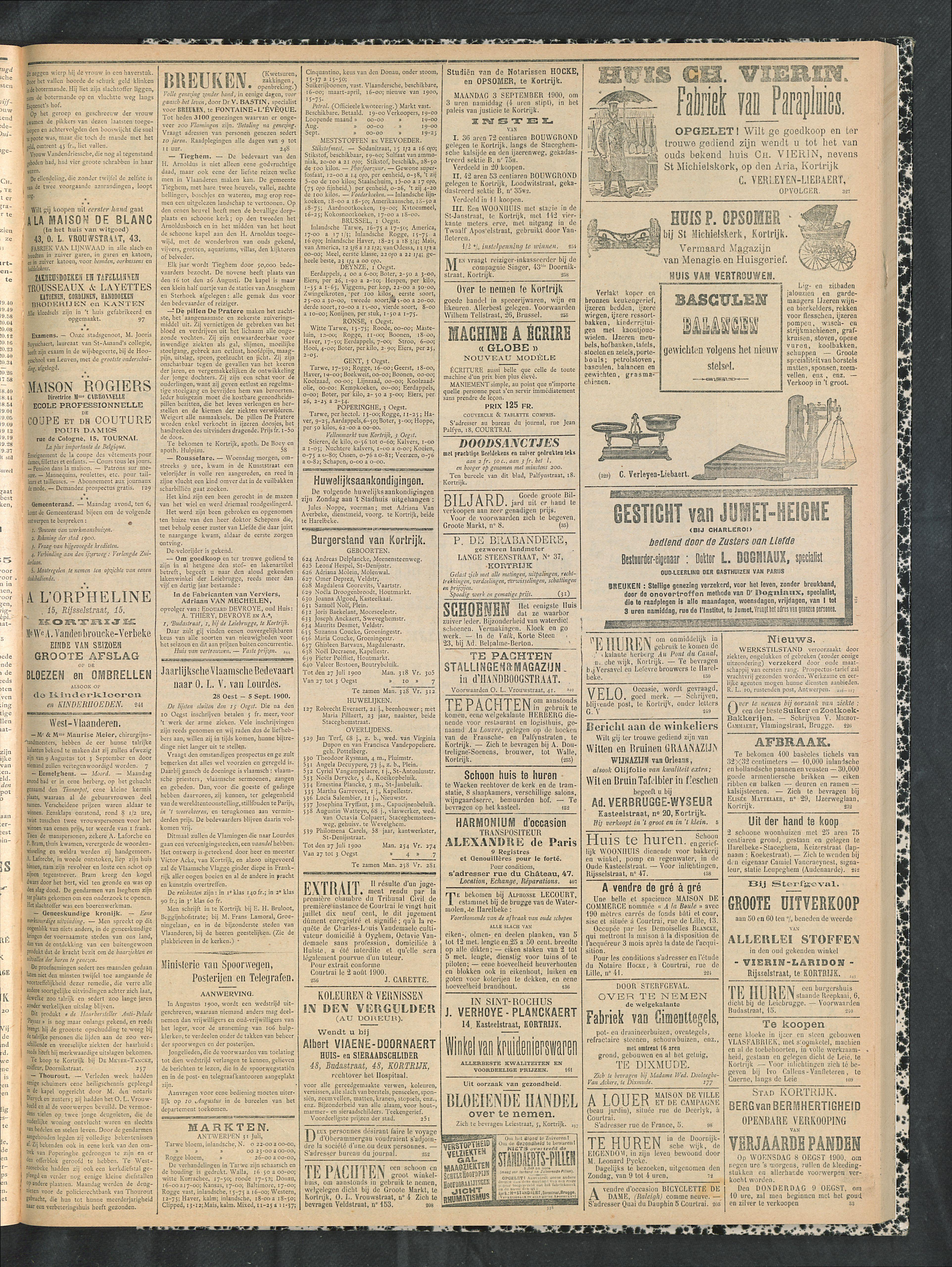 Gazette Van Kortrijk 1900-08-05 p3