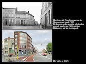 Hoek van de Overleiestraat met de Meensestraat