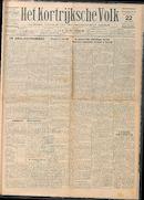 Het Kortrijksche Volk 1929-09-22 p1