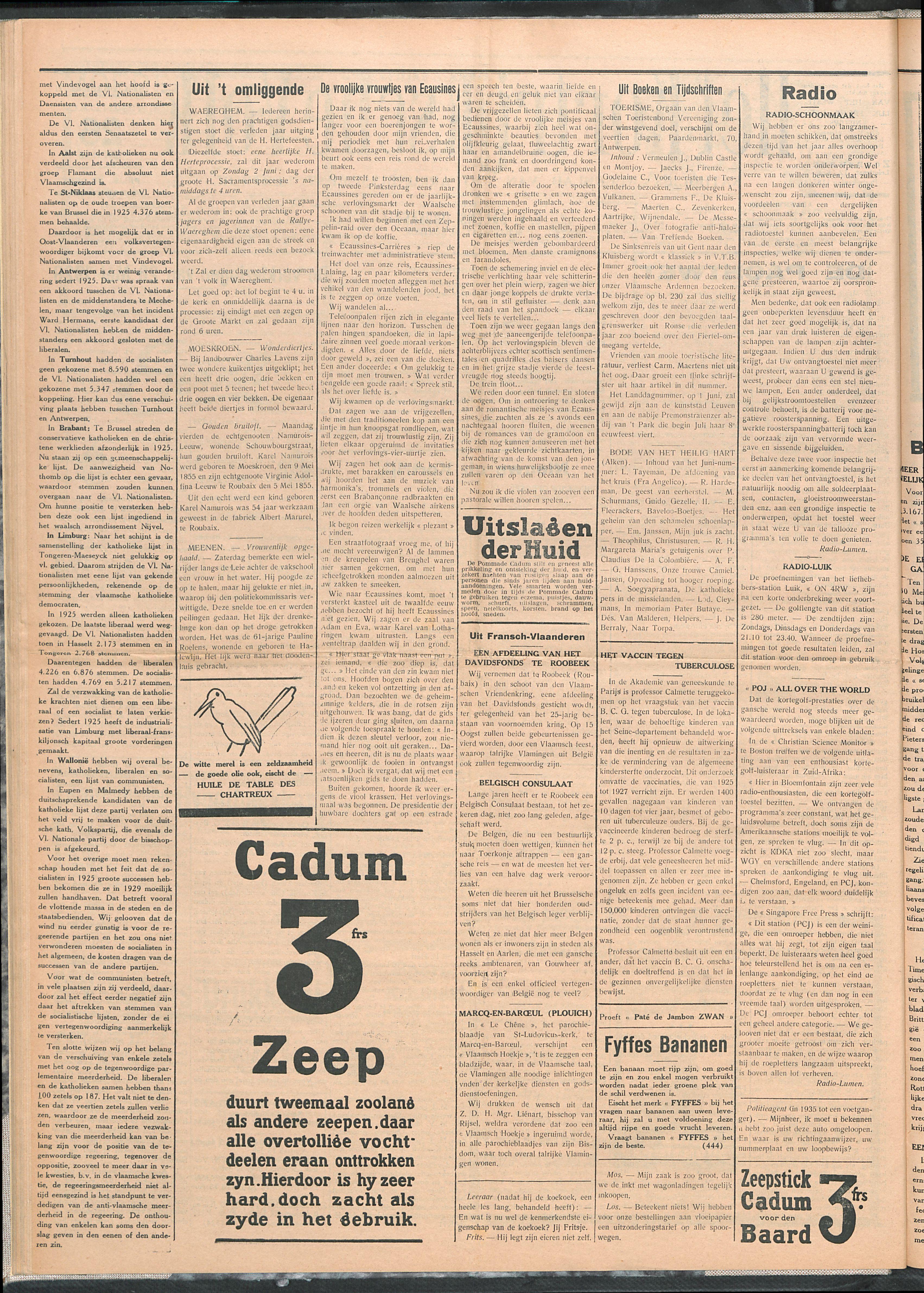 Het Kortrijksche Volk 1929-05-26 p2
