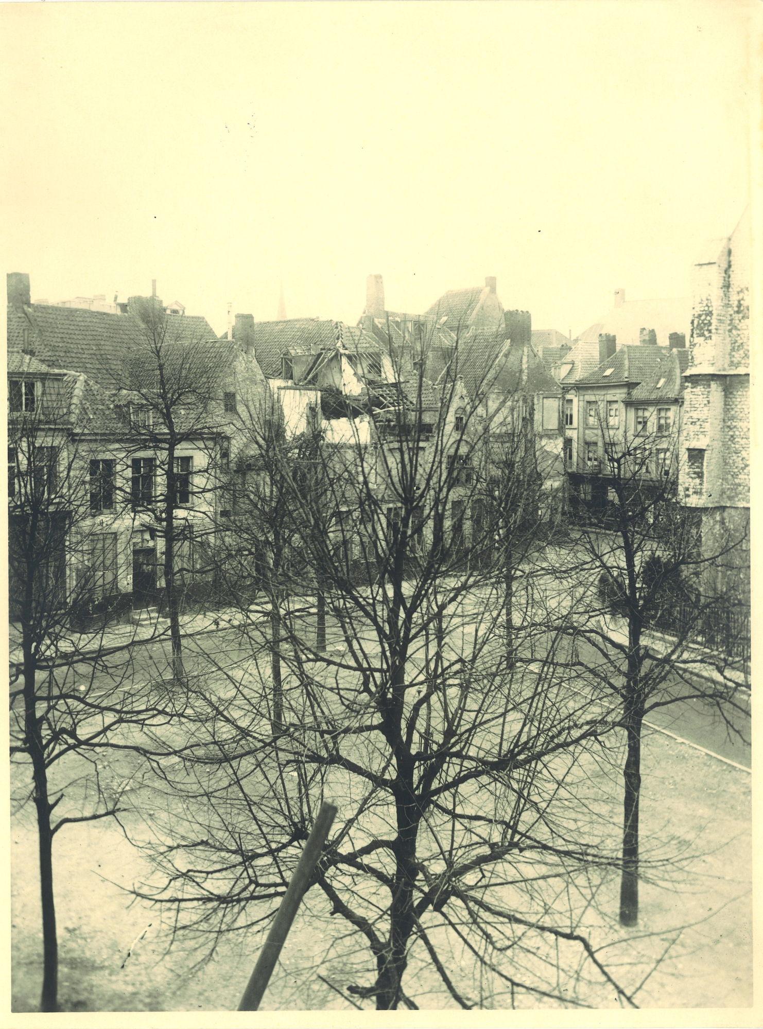 Vandaleplein in 1918